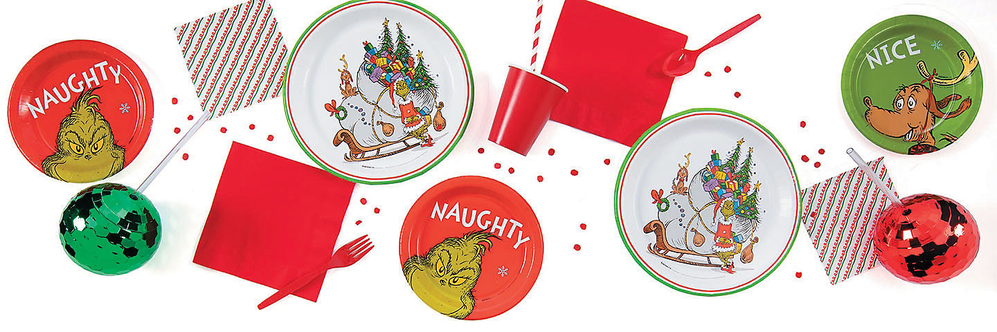 The Grinch Party Supplies Oriental Trading