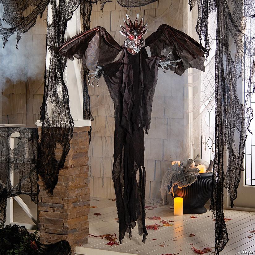 Hanging Animated Dragon Halloween Decoration