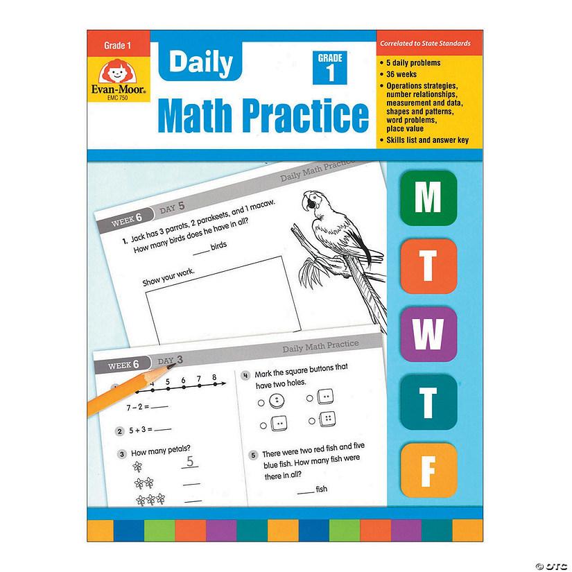Daily Common Core Math Practice - Teacher's Edition, Grade 1