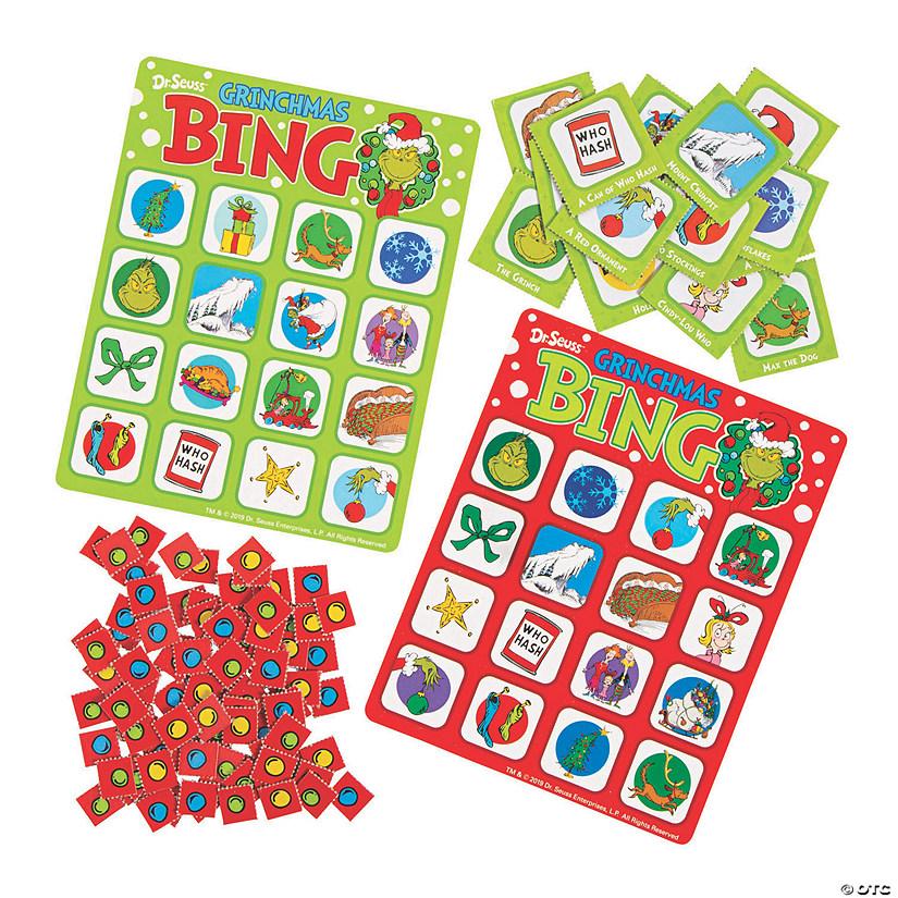 Christmas Bingo.Dr Seuss The Grinch Christmas Bingo Game