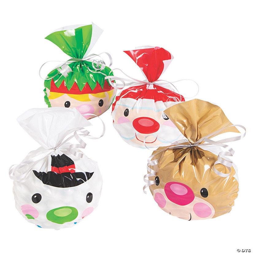 Christmas Cellophane Bags.Christmas Cellophane Bag Assortment