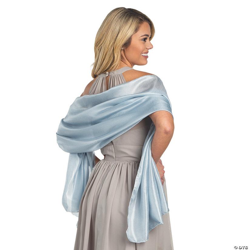 Dusty Blue Bridesmaid Shawl Wraps