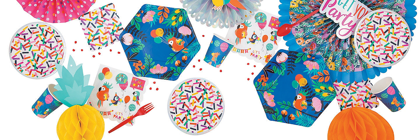 Tropical Toucan Party Supplies Oriental Trading