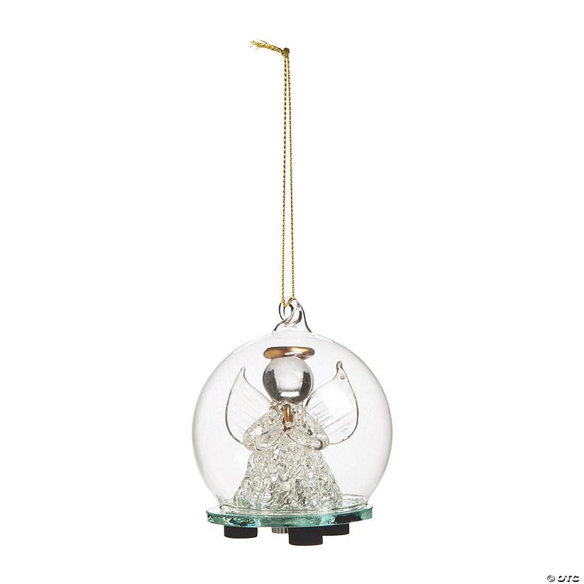 Light Up Angel Ornament Balls Oriental Trading