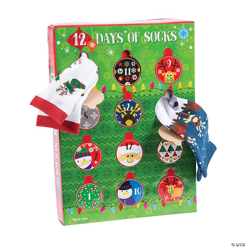 The 12 Days Of Christmas.Kid S 12 Days Of Christmas Socks Gift Set