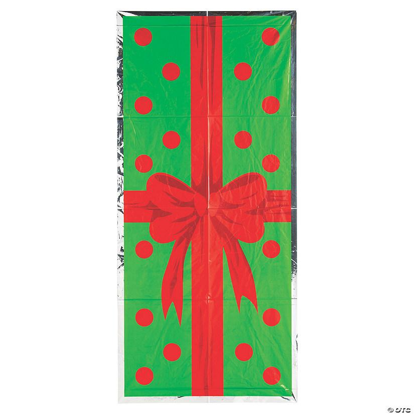 Party City Christmas Door Covers: Christmas Gift Door Cover