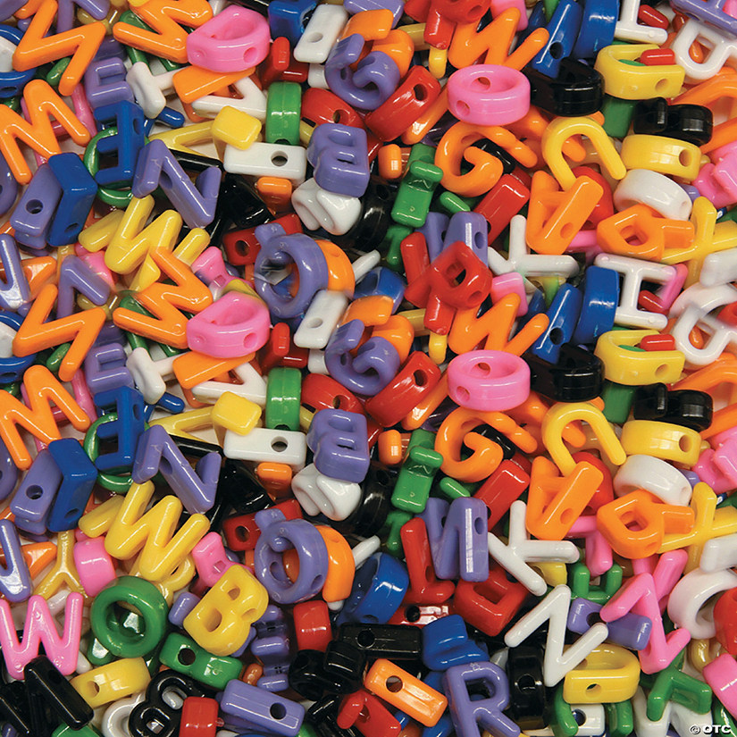 Creativity Street Uppercase Alphabet Beads