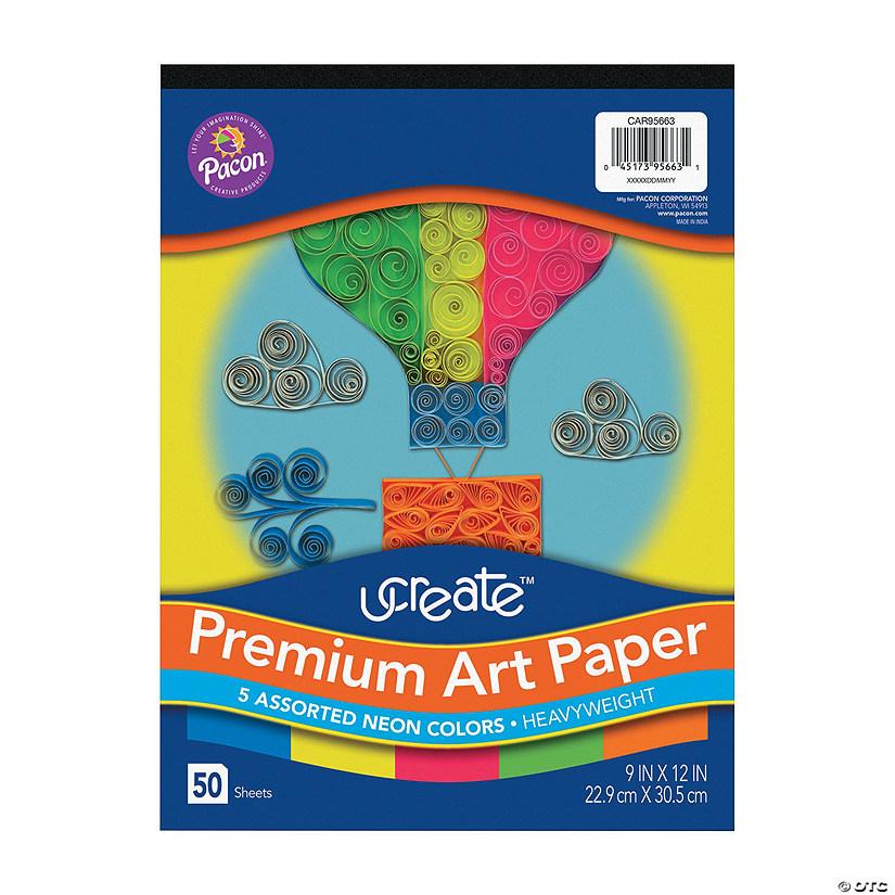 Pacon Ucreate Premium Neon 9 X 12 Construction Paper 50 Sheets