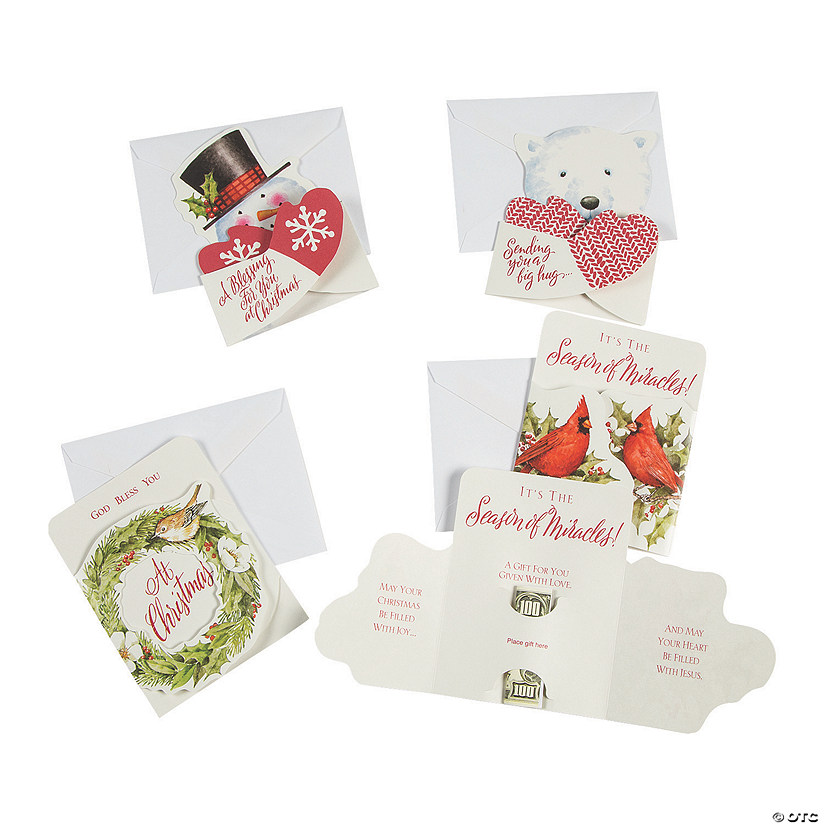 Religious Christmas Gifts.Religious Christmas Money Card Holders