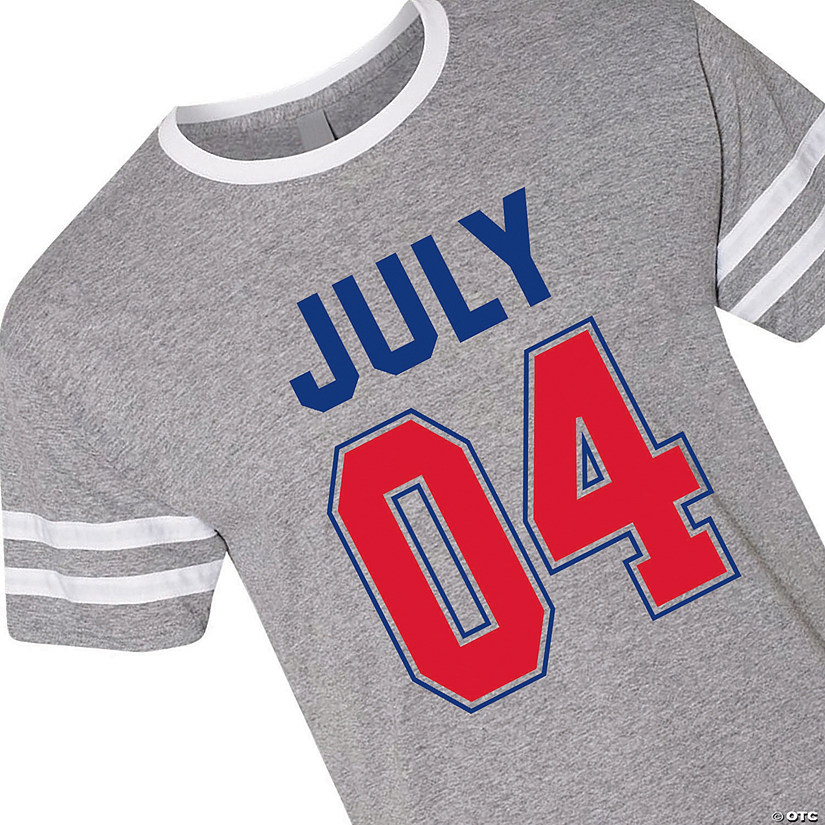 3dd1de9b July 04 Heather Ringer Jersey T-Shirt by Jerzees<sup>®</sup ...