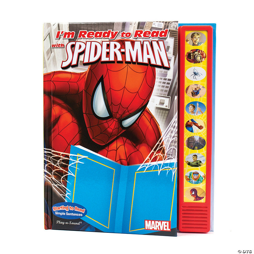 I M Ready To Read With Spider Man Sound Book Qty 3
