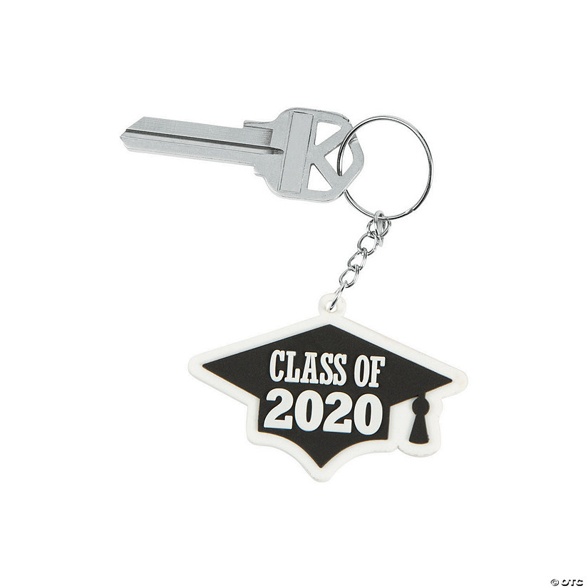 Oriental Trading Graduation 2020.Class Of 2020 Keychains