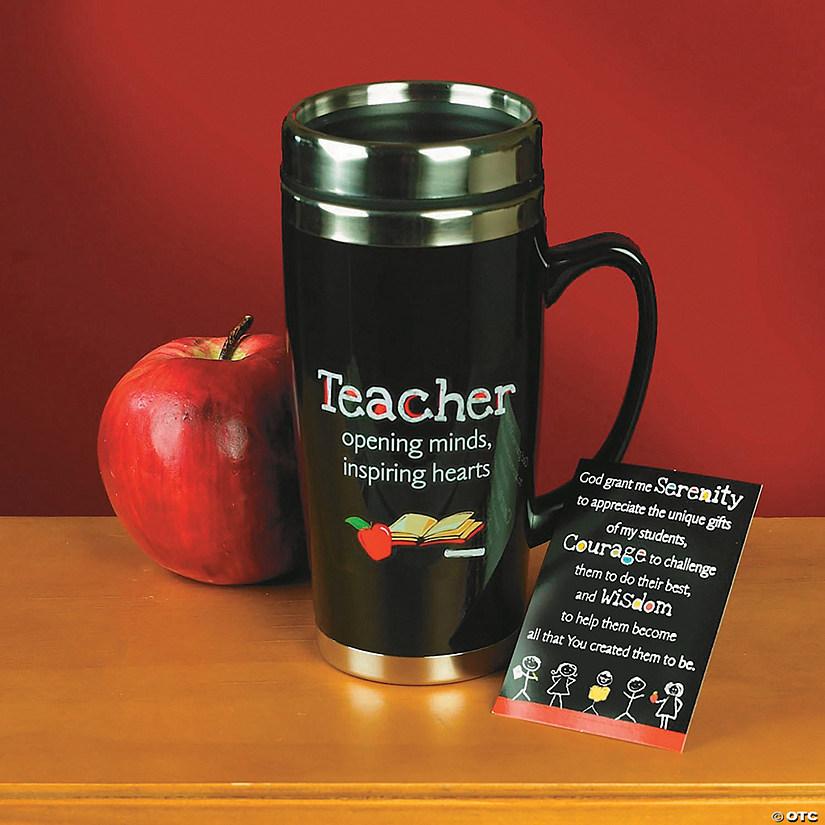 Mug Teacher Travel Teacher Travel Mug With Teacher With Card Card ED9HY2WI