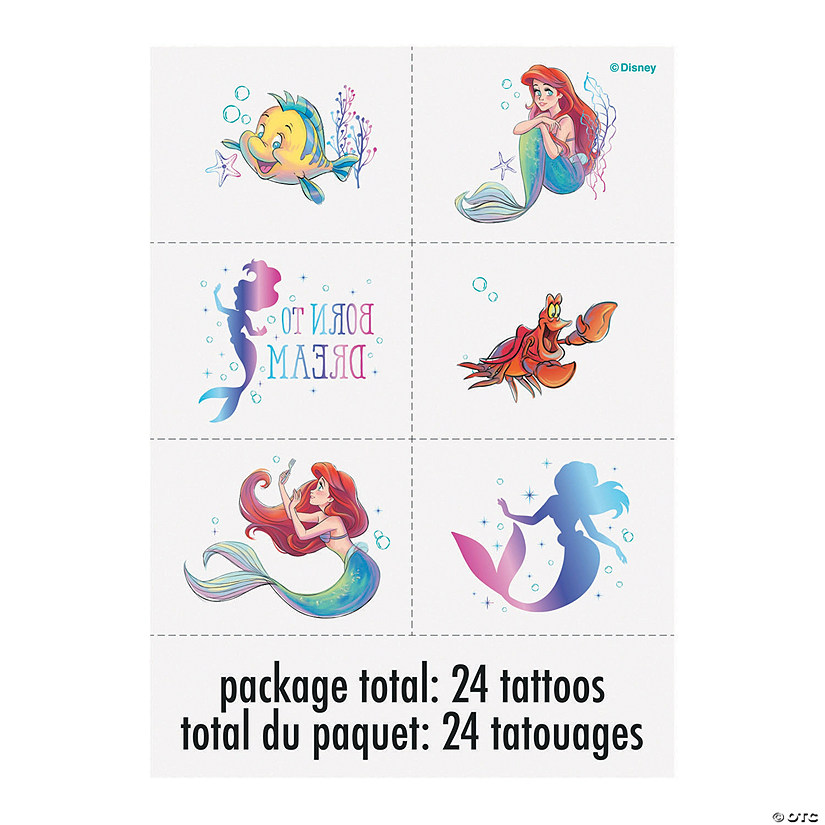 24 My Little Pony Temporary Tattoos Birthday Party Bag Fillers