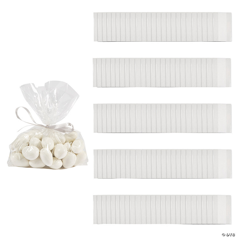 Small Clear Cellophane Gift Bags 150 Pc