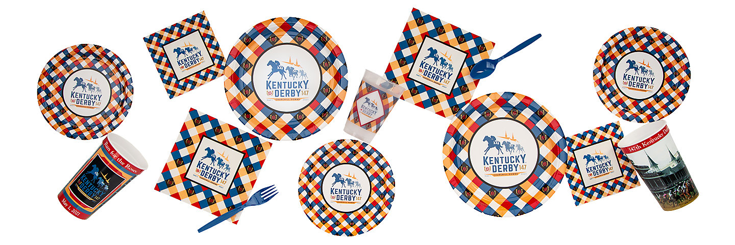 146th Kentucky Derby Party Supplies
