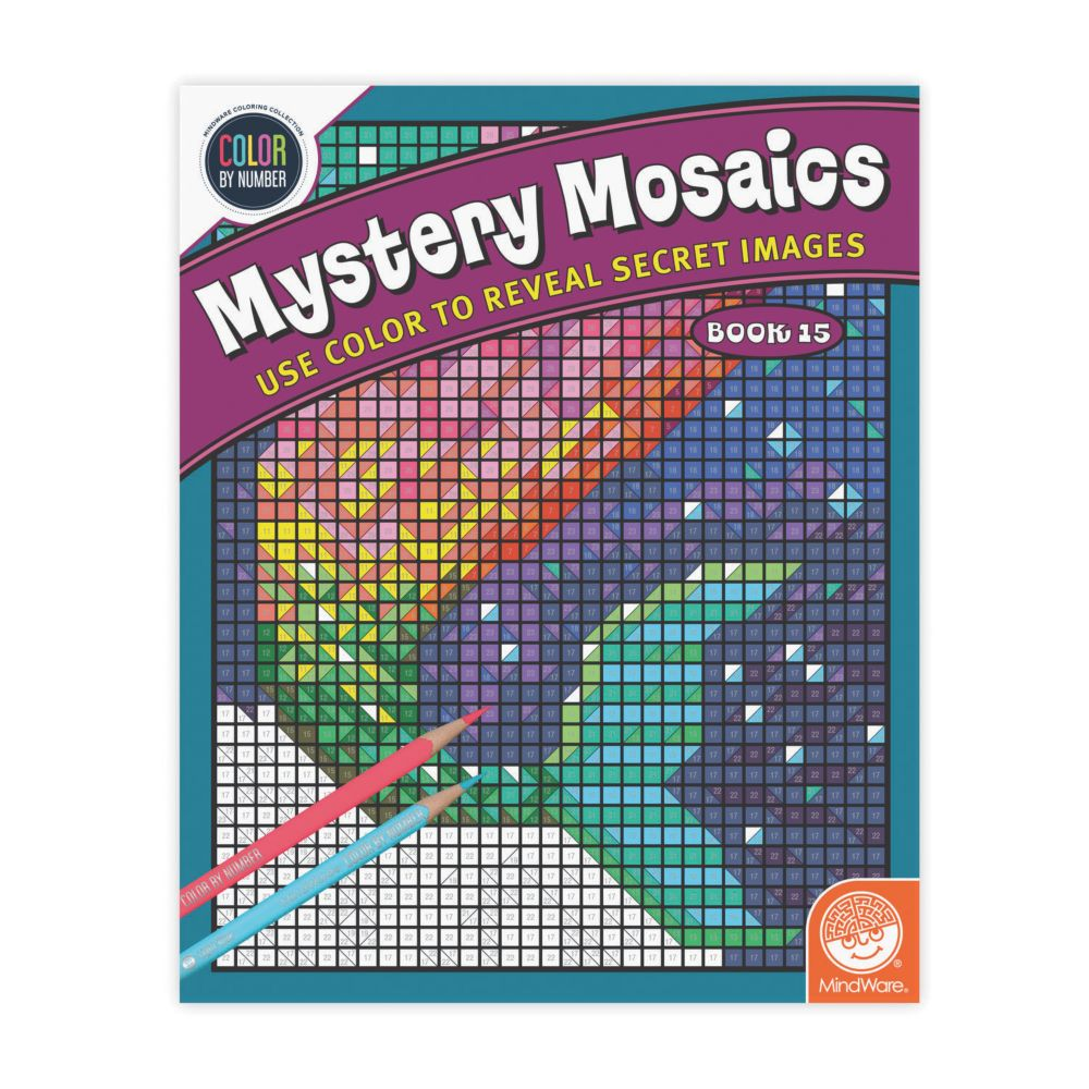 Book 15 Mystery Mosaics From MindWare