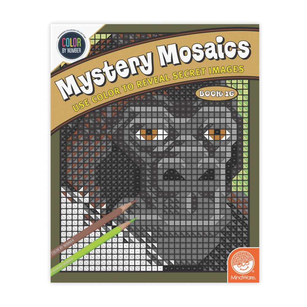 Book 16 Mystery Mosaics From MindWare