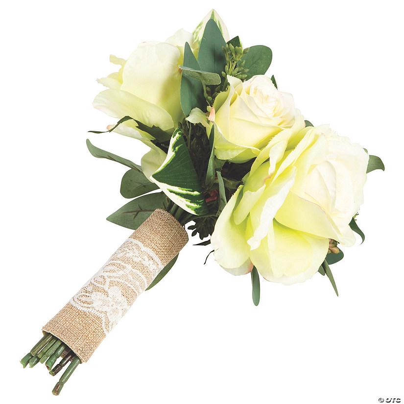 Burlap Lace Wedding Bouquet Wrap Oriental Trading