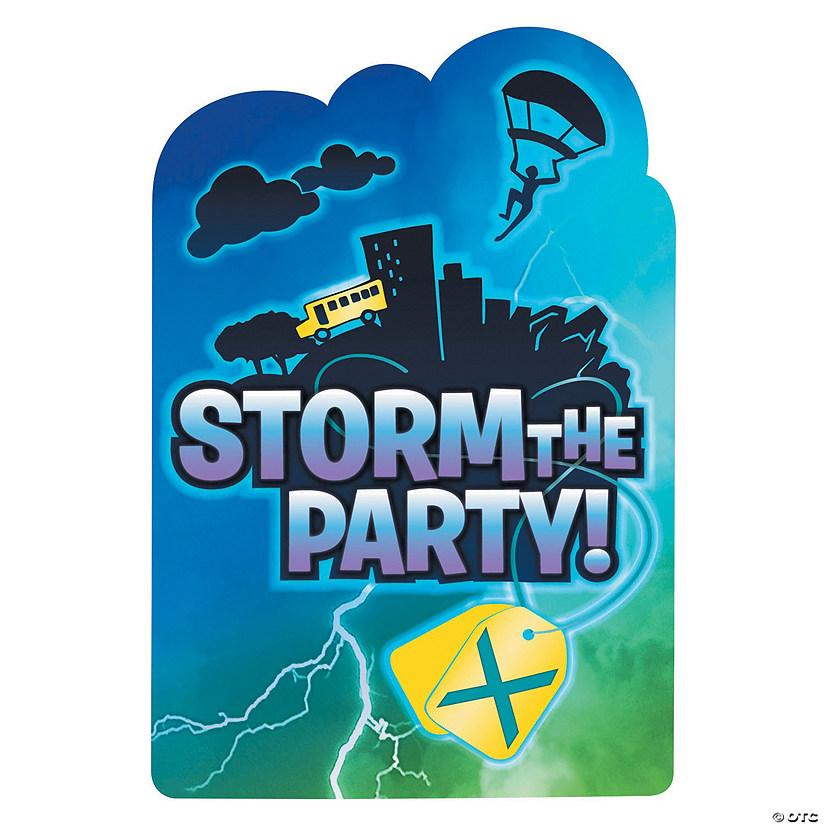 Battle Royal Postcard Party Invitations