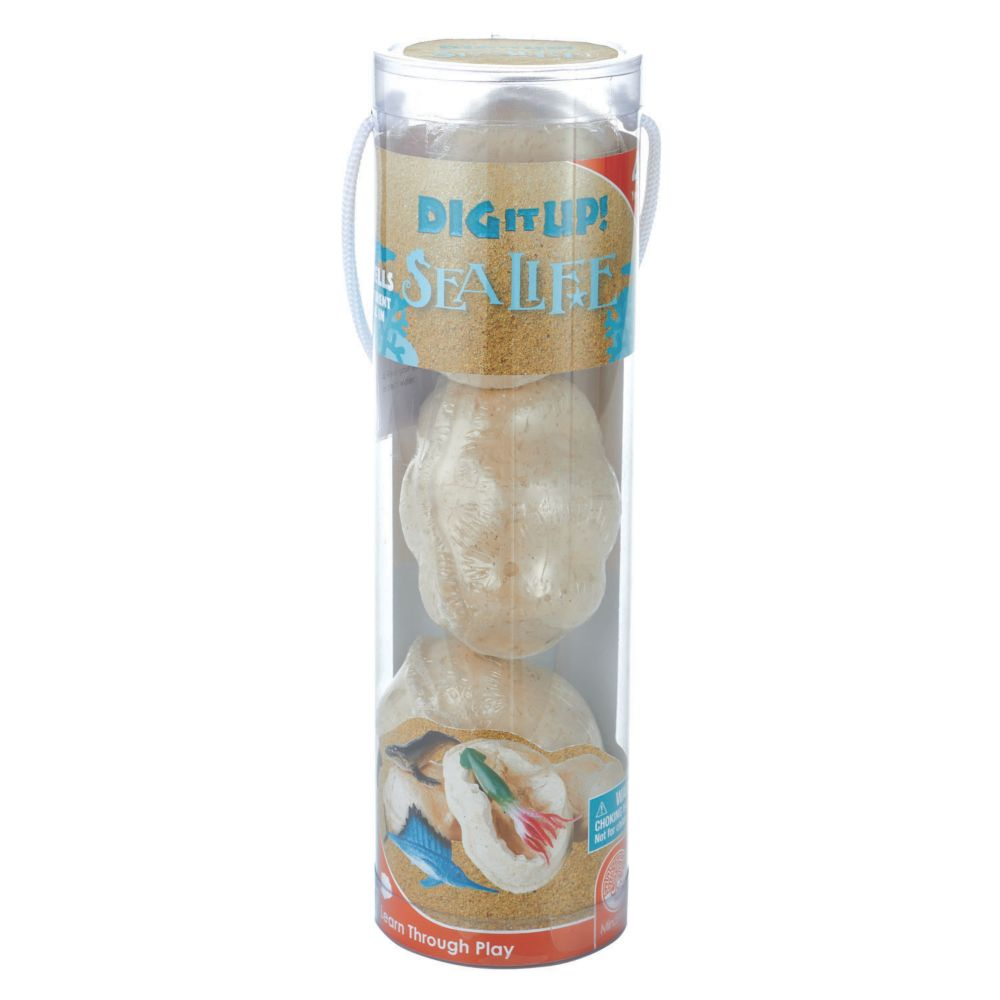 Dig It Up Sea Life Tube From MindWare
