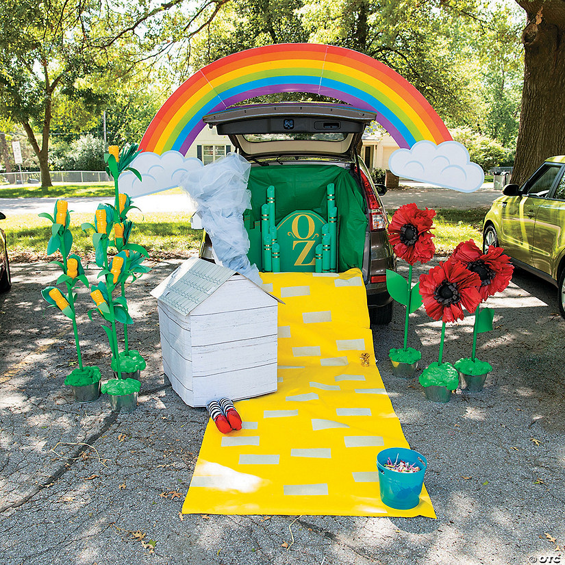The Wizard Of Oz Trunk Or Treat Decorating Kit