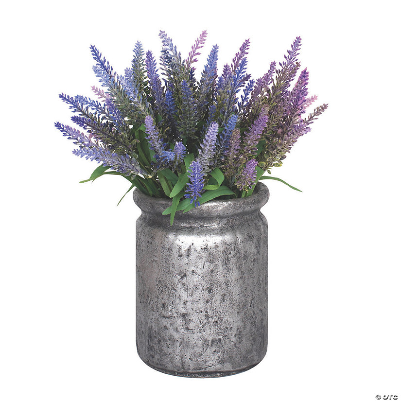 Vickerman 15 Lavender Bush Arrangement Oriental Trading