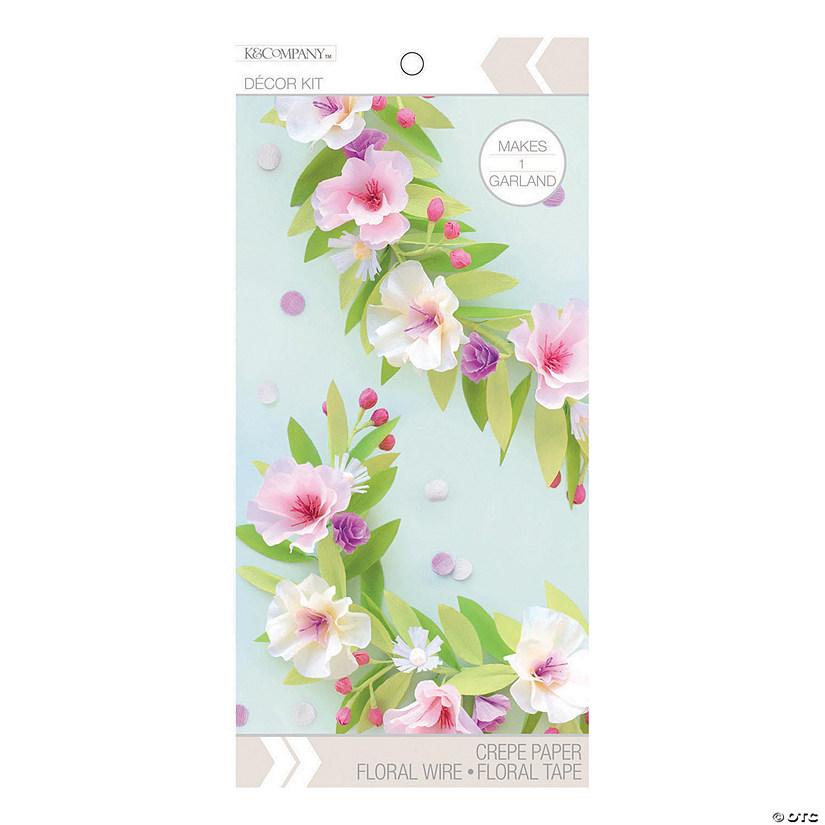 American Crafts K Company Diy Pastel Floral Garland Kit