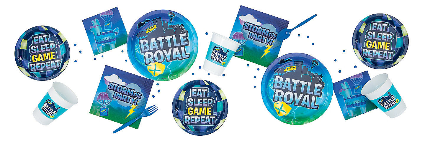 Fortnite Battle Royale Party Decorations Battle Royal Party Supplies Oriental Trading