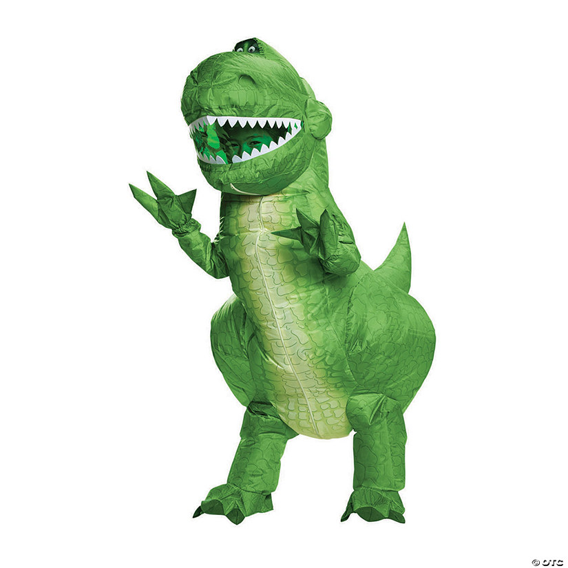 Toy Story 4 Halloween Costumes.Boy S Toy Story 4 Inflatable Rex Costume