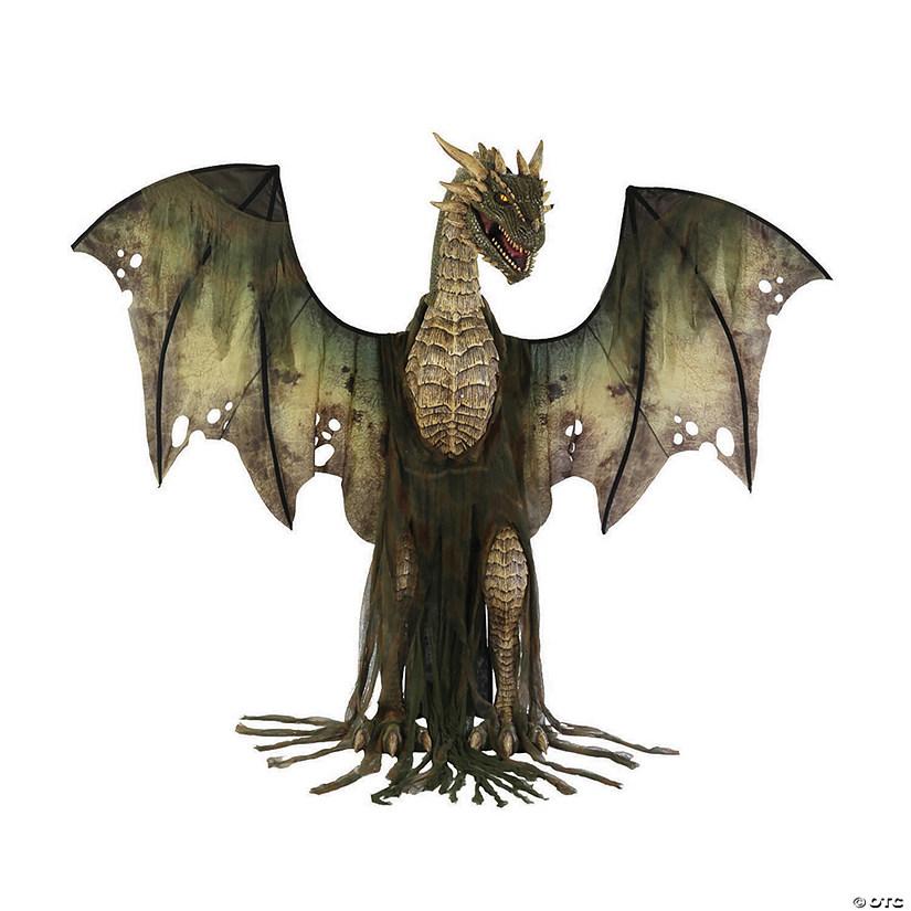 Winter Forest Dragon Halloween Decoration