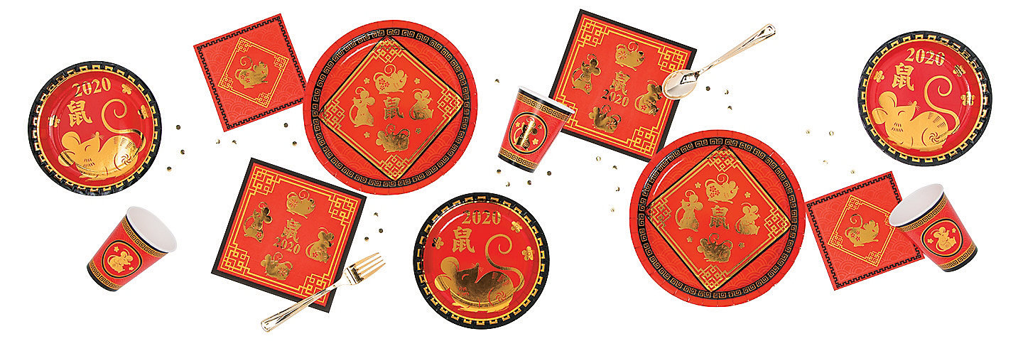 Year of the Rat Chinese New Year Party Supplies