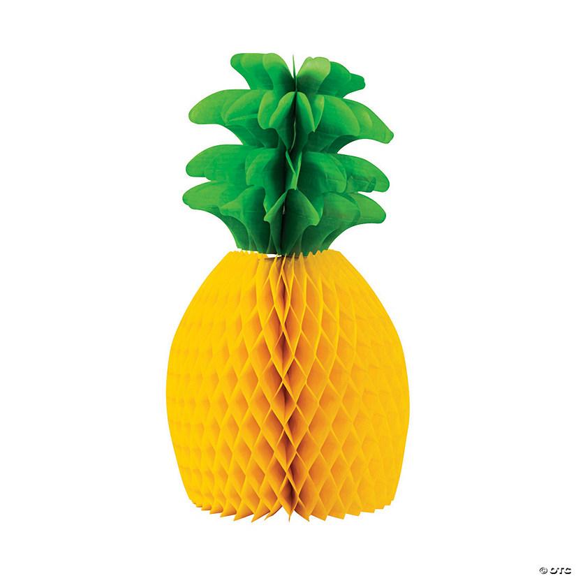5x Tropical Pineapple Honeycomb Garland Centerpiece Table Hawaiian Party Decor~~