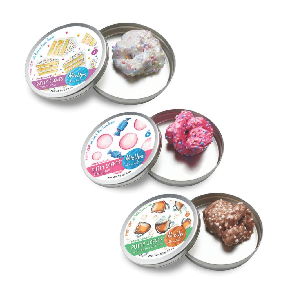 Putty Scents Mixups Set Of 3 From MindWare
