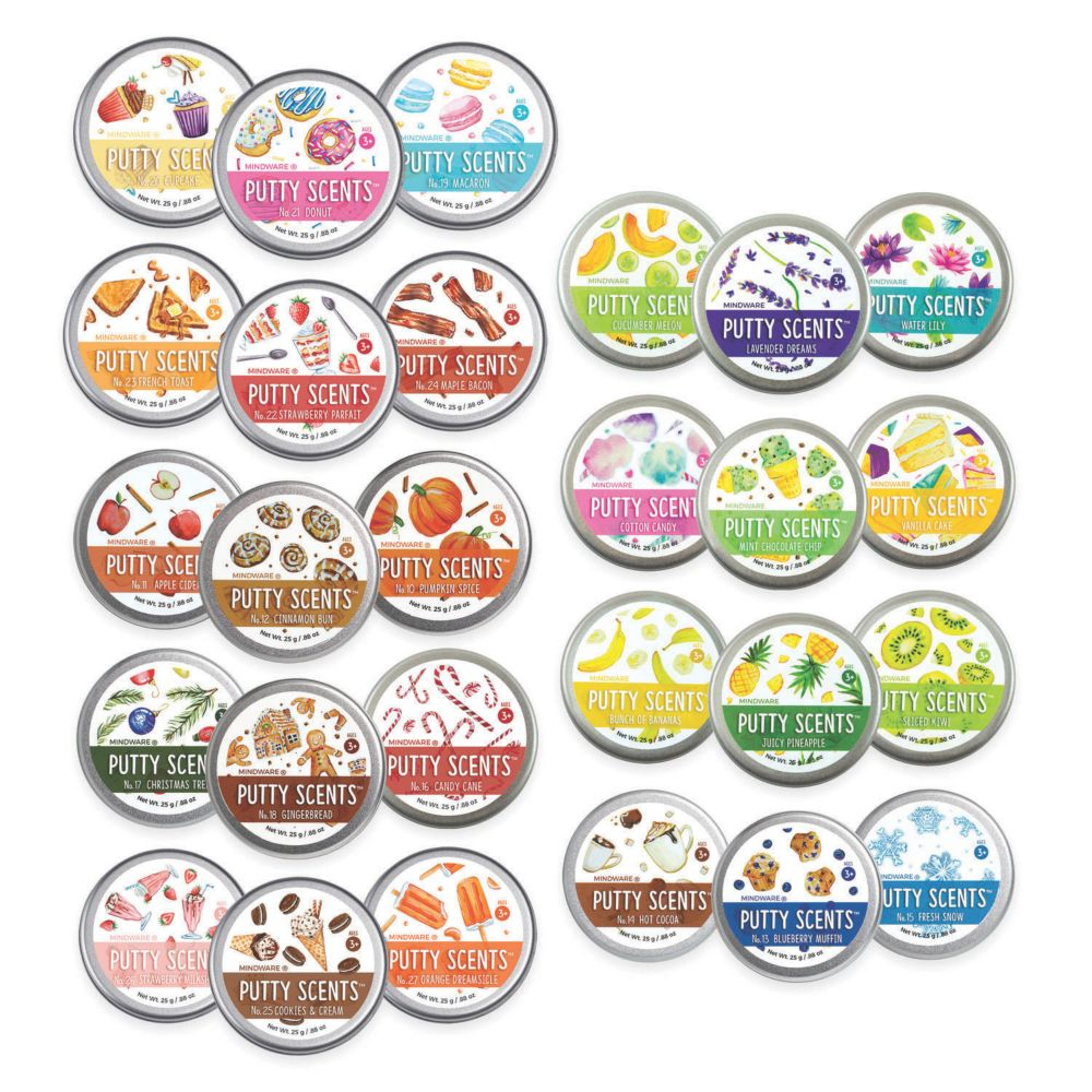 Putty Scents Series 1-3 All From MindWare