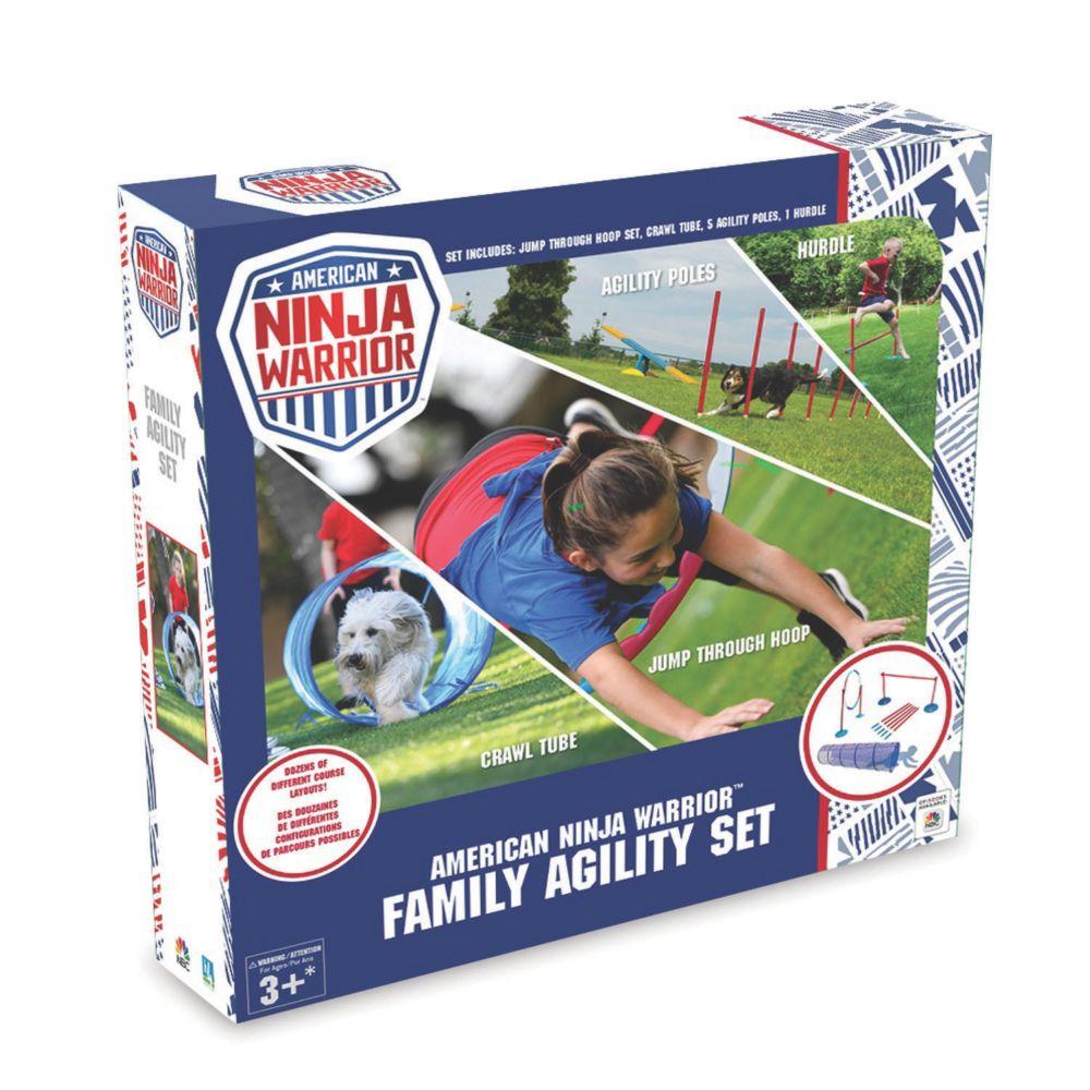 American Ninja Warrior Family Agility Set From MindWare