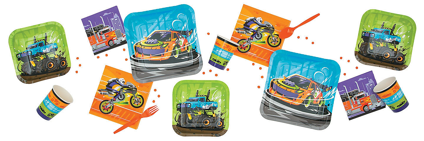 Cars & Trucks Party Supplies