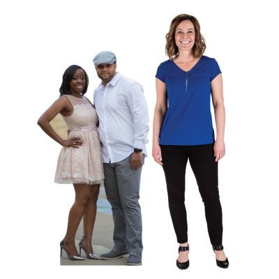 5 Ft. Custom Photo 2-Person Cardboard Stand-Up
