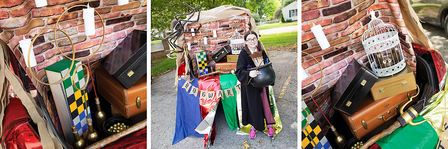 Harry Potter<sup>™</sup> Trunk-or-Treat Decorating Idea
