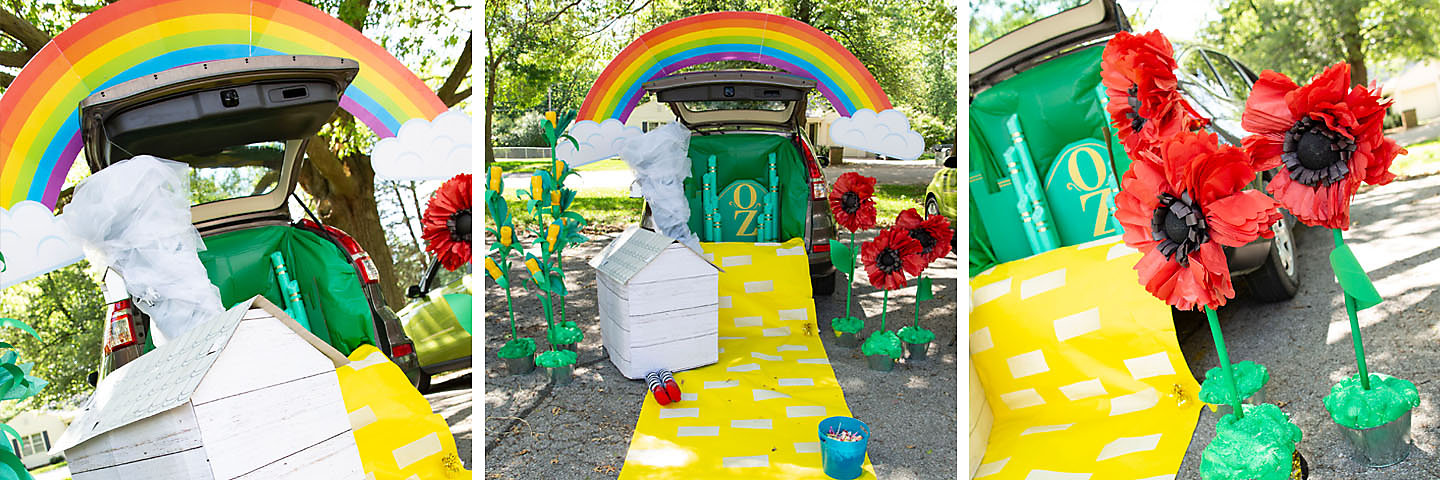 The Wizard Of Oz Trunk Or Treat Decorating Idea Oriental
