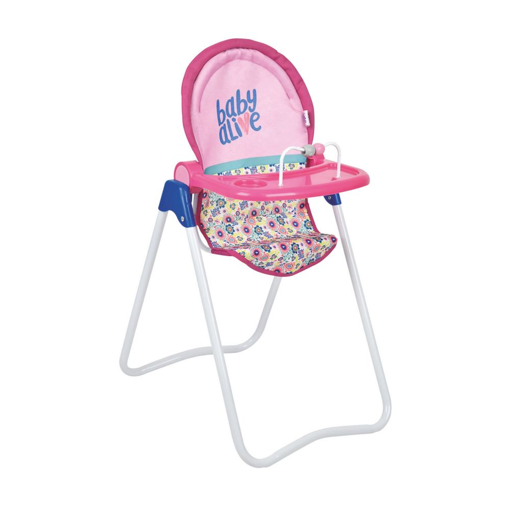 Baby Alive Snacky Doll High Chair Toy From MindWare