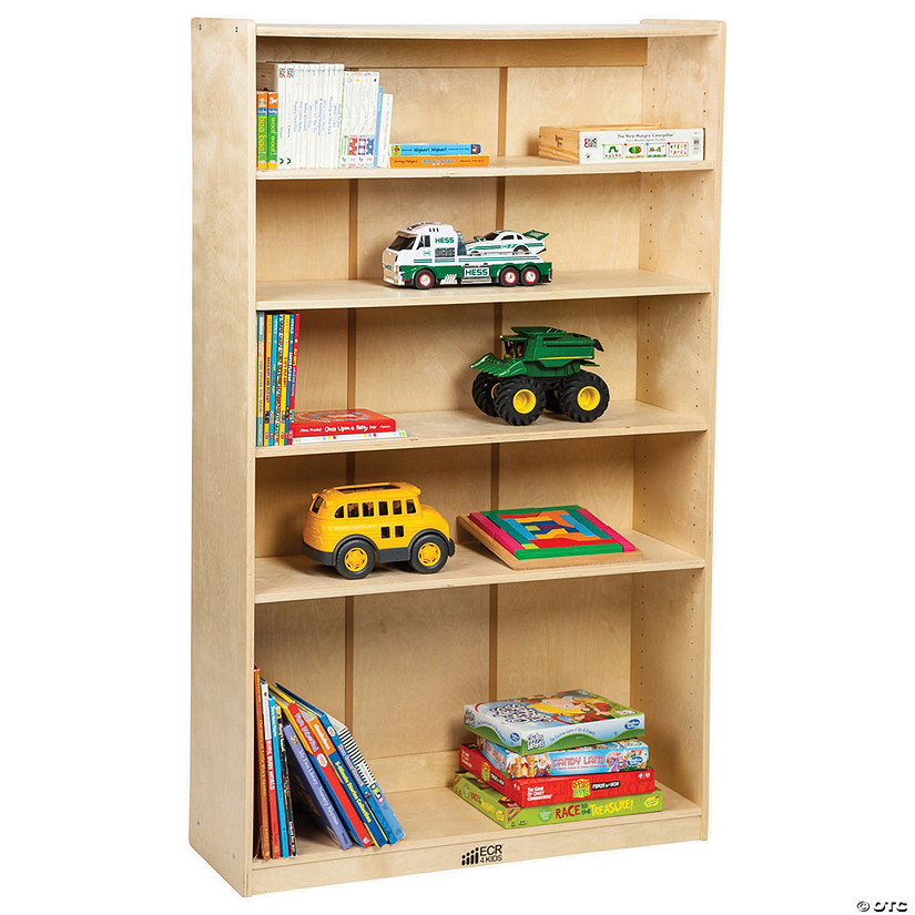 Incredible Ecr4Kids Birch Bookcase With Adjustable Shelves 3 Shelf Download Free Architecture Designs Rallybritishbridgeorg