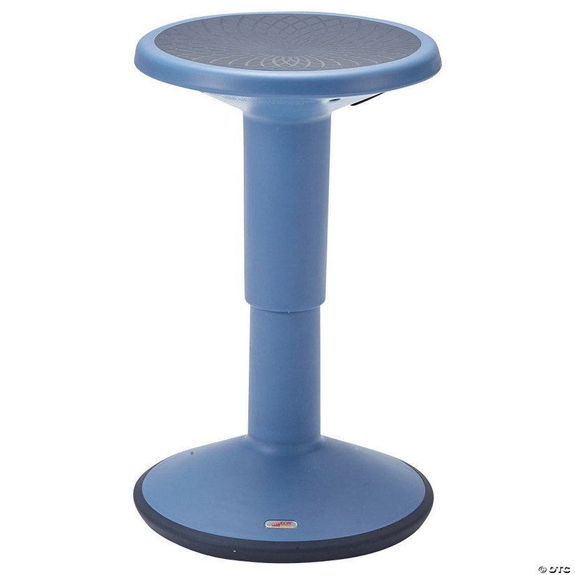 Superb Ecr4Kids Adjustable Wobble Stool Powder Blue Theyellowbook Wood Chair Design Ideas Theyellowbookinfo