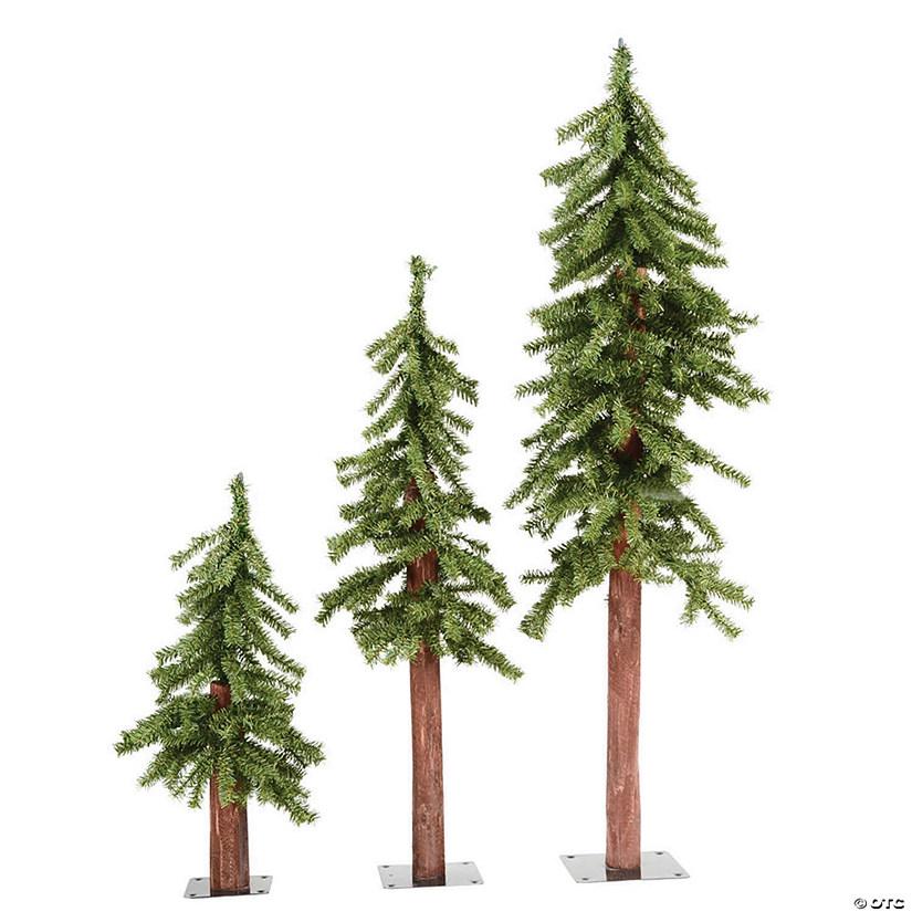 Vickerman Christmas Trees.Vickerman 2 3 4 Natural Alpine Christmas Tree Unlit