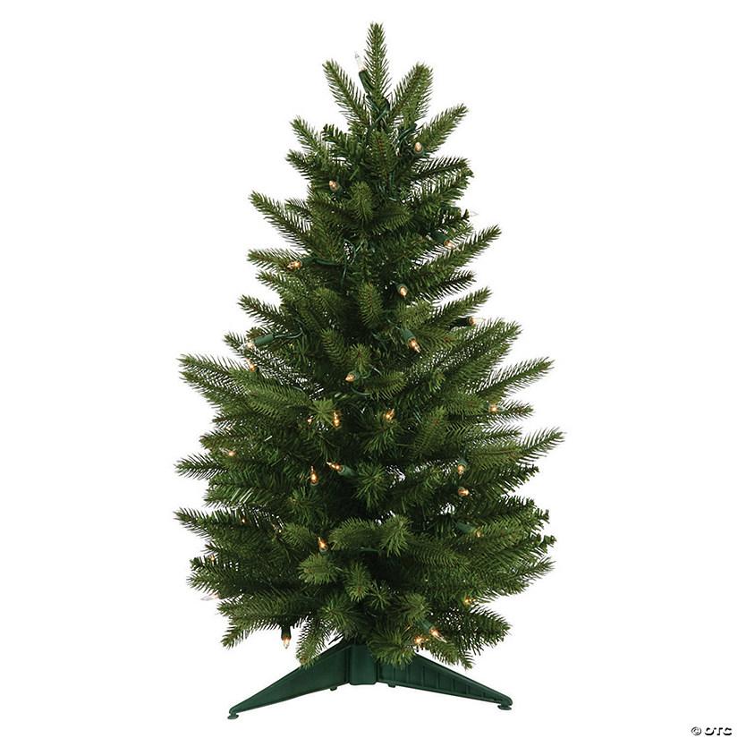 Christmas Tree With Lights.Vickerman 24 Frasier Fir Christmas Tree With Clear Lights