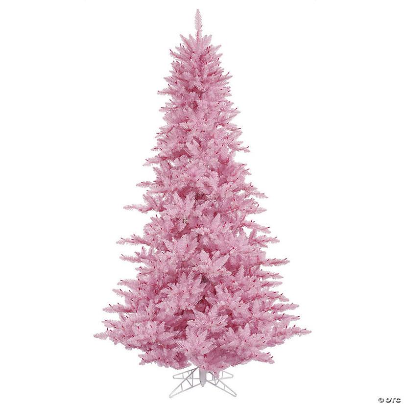 Vickerman Christmas Trees.Vickerman 3 Pink Fir Christmas Tree Unlit