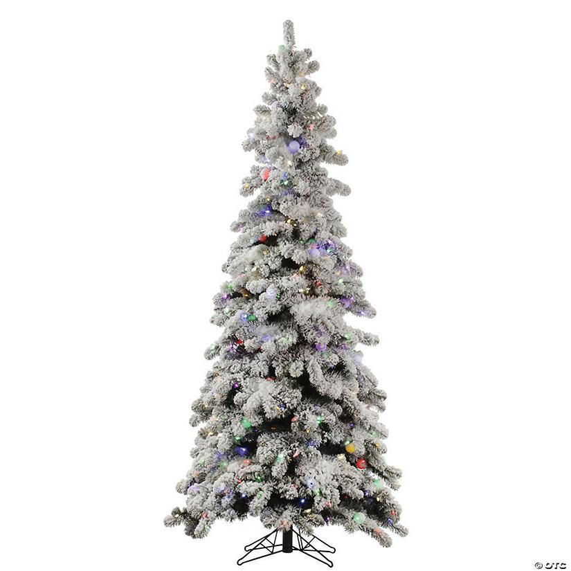 Flocked Kodiak Spruce Christmas Tree