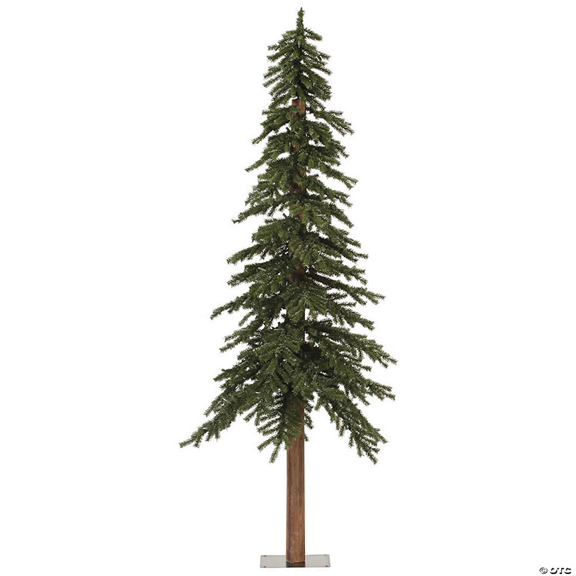 Vickerman Christmas Trees.Vickerman 7 Natural Alpine Christmas Tree Unlit