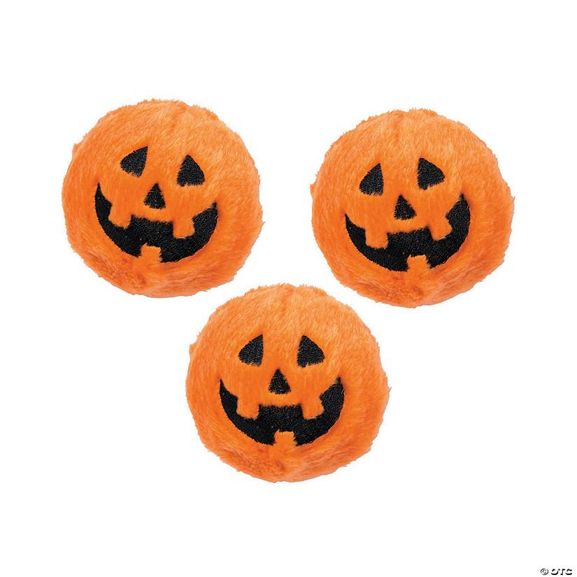 5 Jack-O-Lantern Plush ~ Great Halloween Party Favor ~ 12 RIN