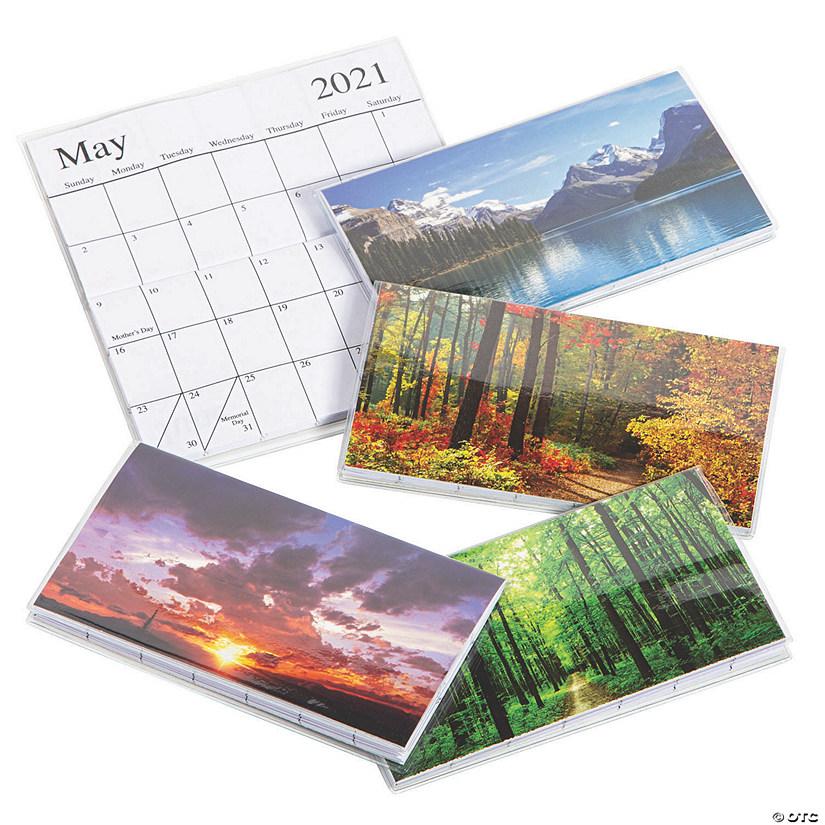 Pocket Calendar 2021 2021   2022 Nature Pocket Calendars | Oriental Trading